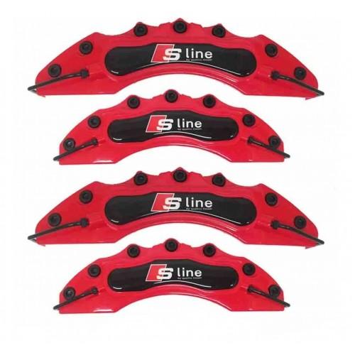 Капаци за спирачни апарати AUDI Sline Ауди червени комплект